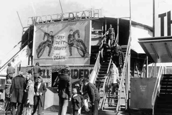 Demon Drome Wall of Death 1970s