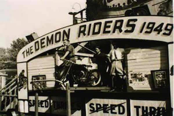 Demon Drome Wall of Death 1949